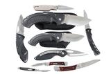 9 Buck folding knives