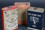 3 Vintage Powder Cans