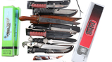 Lot of 11 Fixed Blade Knives