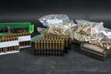 Reloaded ammo and brass