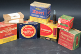 8 Boxes Vintage Ammo