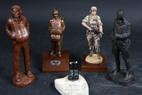 4 Soldier Statues