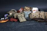 Various military accessories