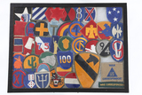 40 WWII military patches