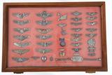 Various military pins