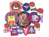 Lot of 16 military patches