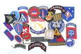 Lot of 25 military patches