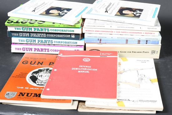 Lot of firearm catalogs/manuals
