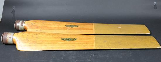 2 WWII Propeller blades