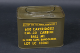 Spam can of .30 carbine ammo