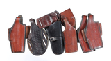 7 various holsters