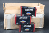 Case of Freedom Munitions .223 rem ammo