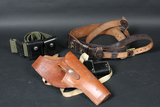 4 holsters & belts