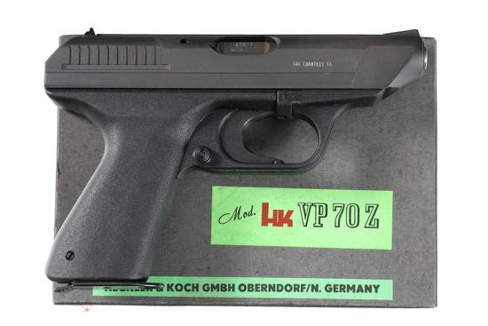 HK VP70Z Pistol 9mm