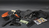 Lot of holsters & belts