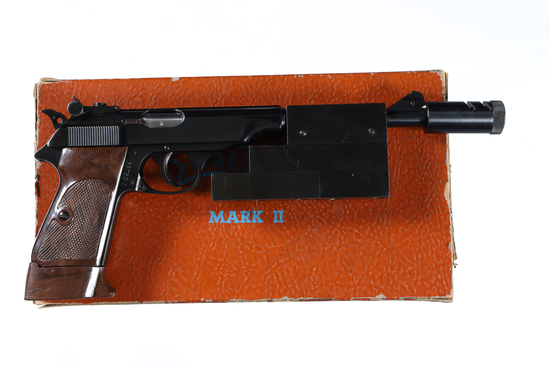 Walther Mark II Sport Pistol .22 lr