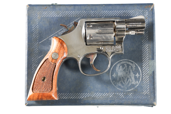 Smith & Wesson 12-3 Airweight Revolver .38 spl