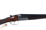 English W. Leech SxS Shotgun 12ga
