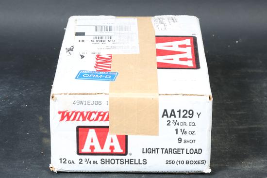 Case of Winchester 12ga Shotshells
