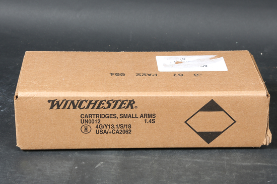 Case of 9mm Ammo