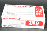 Case of Winchester .40 S&W Ammo