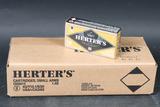 Case of Herter's 9mm Ammo