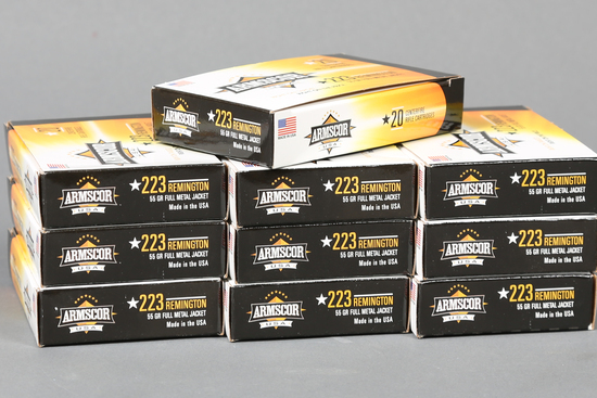 10  bxs Small Arms .223 rem ammo