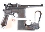Lot of 2 C96 Broomhandle Pistols 7.63mm