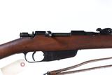 Italian Carcano Bolt Rifle 6.5 carcano