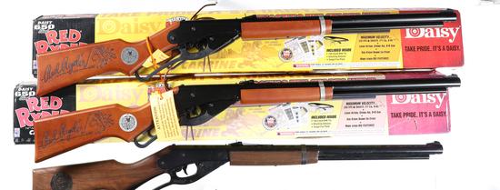 3 Daisy Carbine Air Rifles