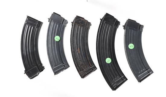 5 AK-47 Magazines