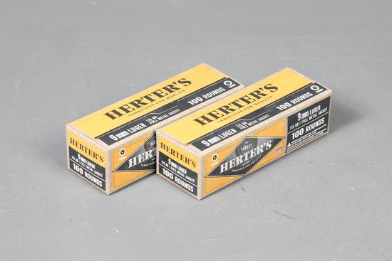 2 bxs 9mm Herter's Ammo