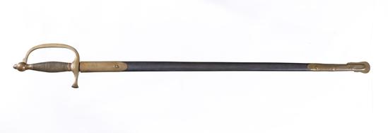 Vintage 1840 Musician Sword