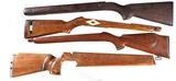 4 Wooden Stocks