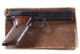 Colt Woodsman Match Target Pistol .22 lr