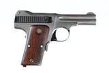 Smith & Wesson 1913 Nickel Pistol .35 ACP