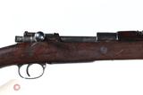 Turkish Mauser 1893 GEW Bolt Rifle 7.92 Mauser