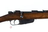 Beretta Carcano Bolt Rifle 6.5 Carcano