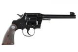 Colt Officers Model Revolver .38 spl