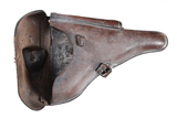 Luger leather holster