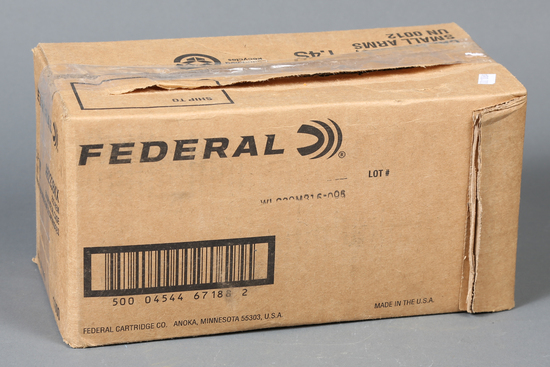 1 case Federal .223 rem ammo