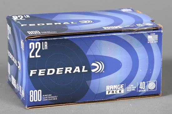 Federal .22 lr ammo Range Pack