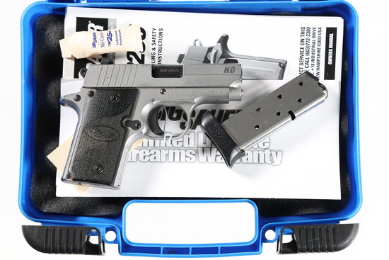 Sig Sauer P238 HD Pistol .380 ACP