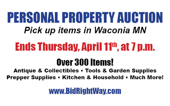 Waconia Estate and Personal Property Auction