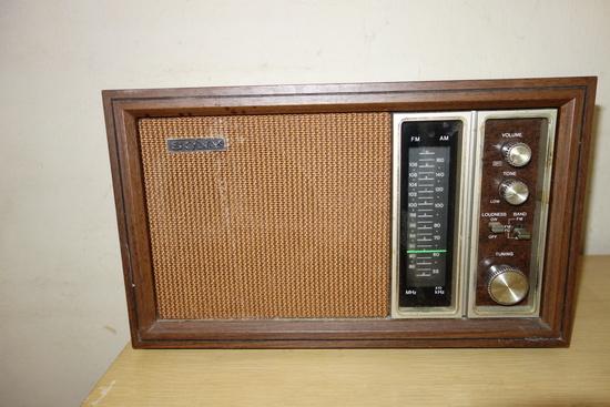 Sony Table Am/ Fm Radio