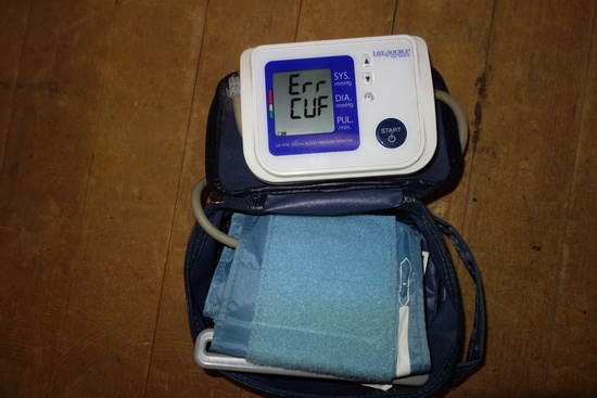 Life Source Blood Pressure Cuff Ua 1010