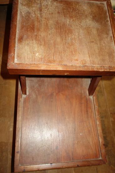 Handmade Wood End Table