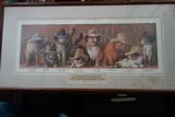 Cat Art Print The James-younger Gang's Last Raid Northfield, Mn