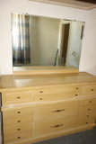 Vintage Dresser Blonde Wood