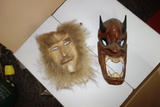 Set Of Two Art Masks